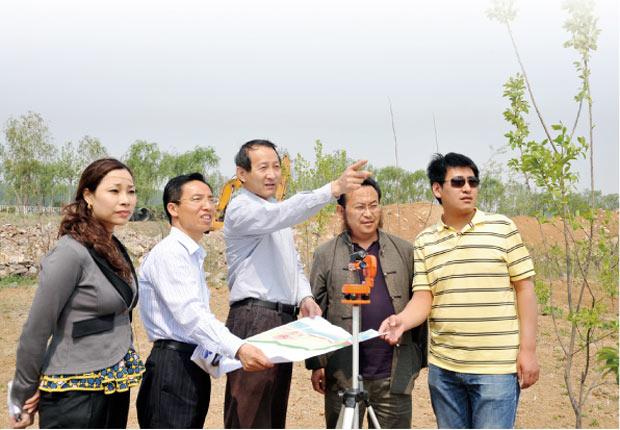 风水选址 景观布局 规划指导